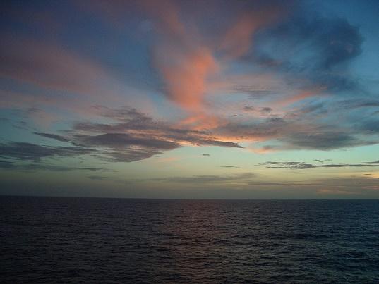 Caribbean Sunset - summer 2007